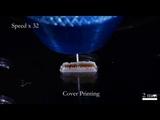 Living cells 3D printing