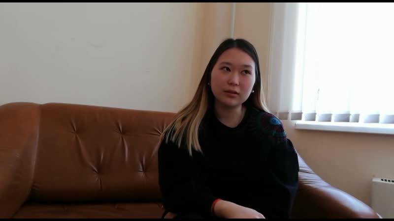 Видео визитка Ольги Лиджиевой г Элиста