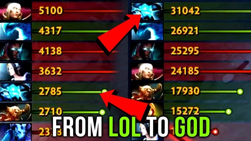 Dendi Storm Spirit From LOL to GOD - Dota 2