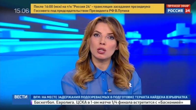 Новости на Россия 24 • На востоке Турции упал полицейский вертолет