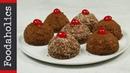 Πάστες σοκολάτας και βανίλιας Foodaholics