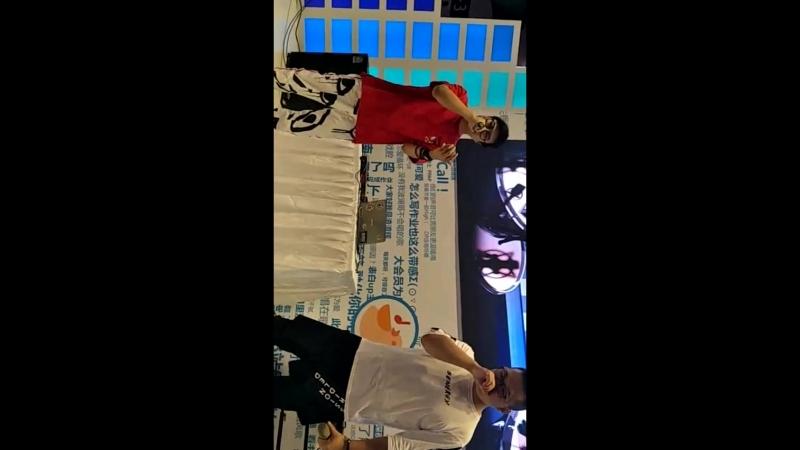 Сяо Хунь и Ле Тянь на bilibiliworld Странствующий рыцарь