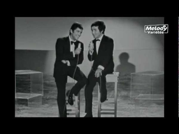 Sacha Distel Richard Anthony - Medley (1967)