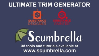Ultimate Trim Generator for Substance Designer Overview
