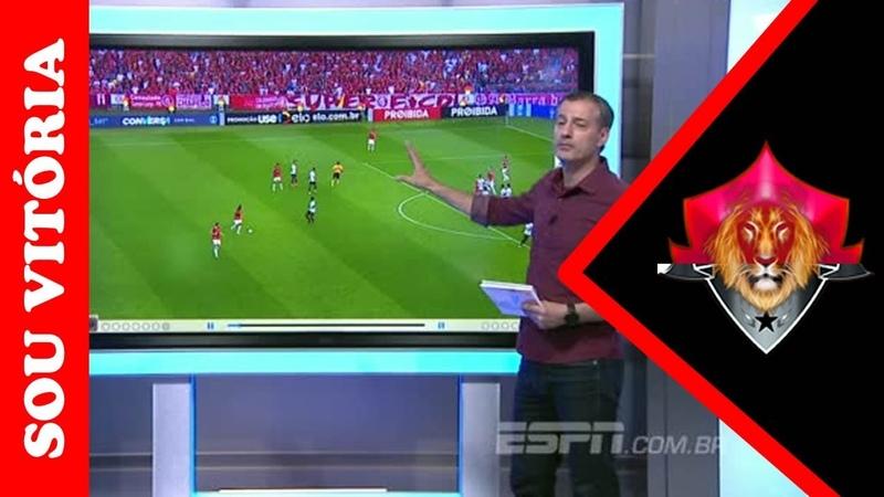 Sálvio analisa pênalti inexistente e gol do Inter anulado corretamente