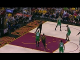 LeBron James attacks the rim!