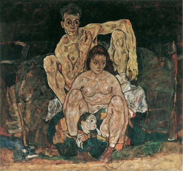 История одного шедевра. «Семья»/ The Family, Эгон Шиле