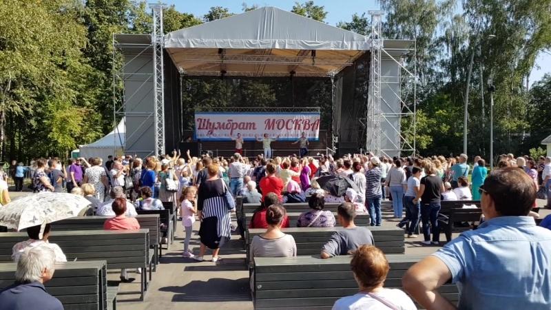 Москва, 25.08.2018 , Кузминский парк.