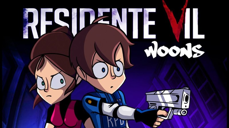 RESIDENTE VIL ANIMACION (Parodia de Resident Evil 2) WOONS