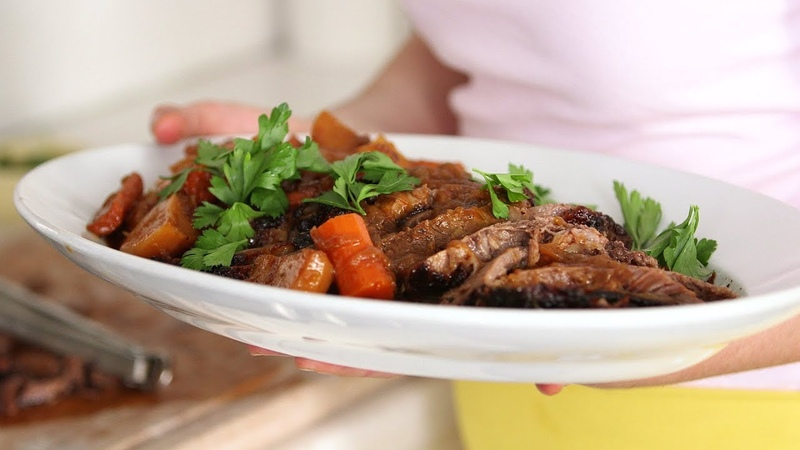 Sweet-and-Sour Brisket- Everyday Food with Sarah Carey