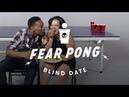Blind Dates Play Fear Pong (Lance vs. Ella) | Fear Pong | Cut