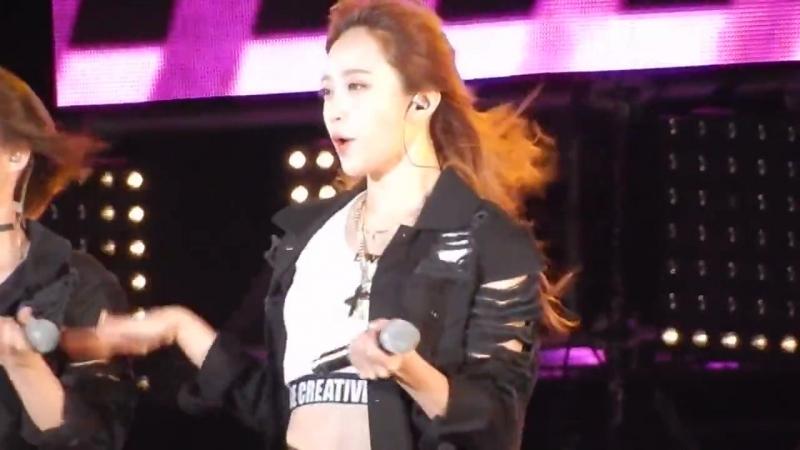 [FANCAM] EXIDs Hani Focus - Up Down 151003 Gangwon K-pop Concert