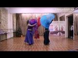 Восточный танец с платком. Группа Хановой Дарьи. Отчетный концерт 17.12.16.
