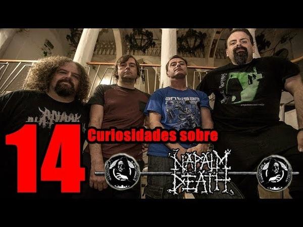 EL VIDEO ILEGAL DE NAPALM DEATH | Napalm Death 14 Curiosidades