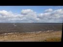 Финский залив (вид с дамбы на Кронштадт)