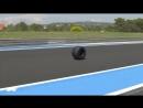 France 2018: Perez's Wheel comes off