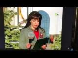 Сахалинская телеведущая не успела снять куртку во время прямого эфира с Дня Победы