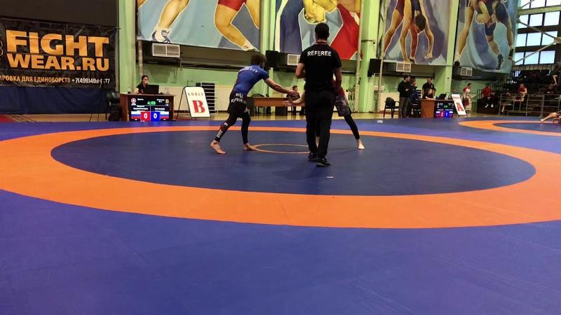 Чемпионат Москвы по грэпплингу UWW 1 схватка