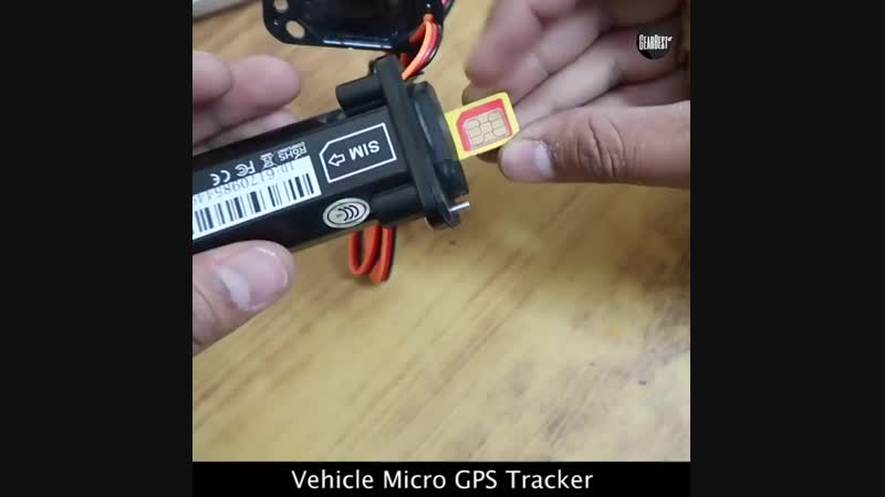 Micro GPS Vehicle Tracker ONLY$24