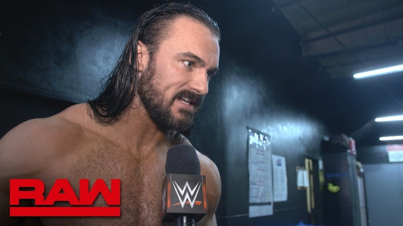 [My1] Drew McIntyre on why he does what he does: Raw Exclusive, Dec. 10, 2018