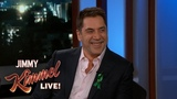 Javier Bardem Does Mick Jagger Impression