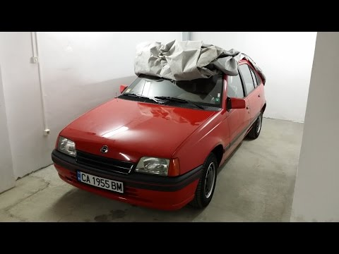 Opel Kadett E GT 1989 - The Best Package! Sound and closeup