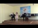 Анна Морозова 8 лет- 1 год обуч - кларнет ми