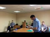Слушания по делу публичных оскорблений от депутата В. Откина. Миасс. Трансляция