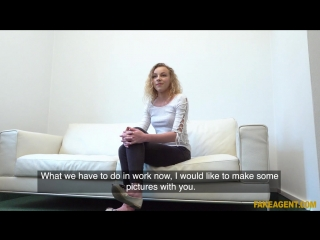 Fakeagent angel emily - sexy model in perfect casting fuck new porn 2018
