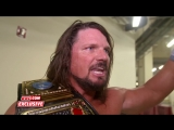 WWE EXCLUSIVE AJ Styles Isn't Ashamed Of His Anger Toward Shinsuke Nakamura
