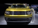 2018 Volswagen Atlas SEL Premium _Exterior And Interior Walkaround