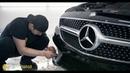 Оклейка полиуретановой пленкой Mercedes CLS
