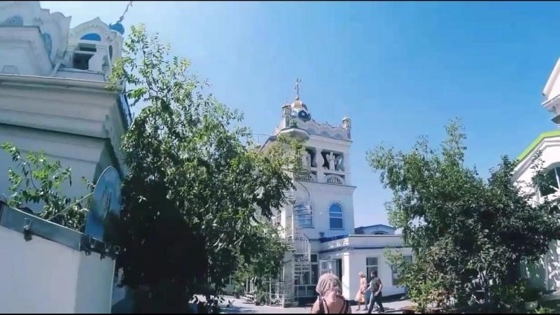 Храм Святой Екатерины в Феодосии обитель аистов