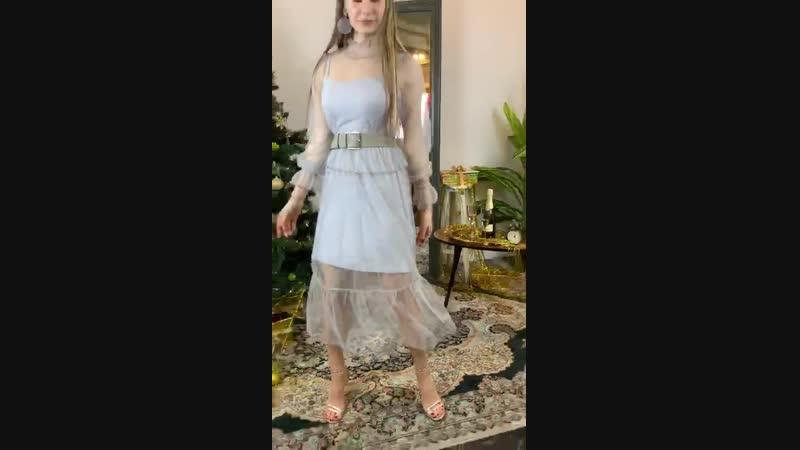 Стильное платье из фатина в стиле Dior✨✨