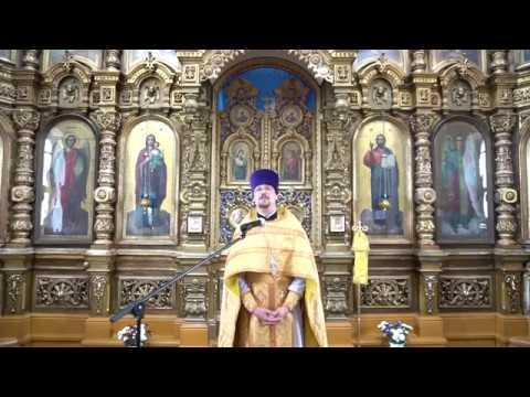Проповедь иерея Романа Пешкова