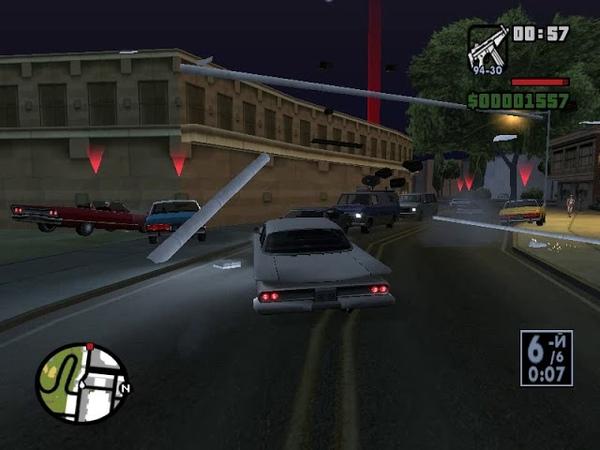 прохождение игры GTA San Andreas 10 миссия высокие ставки и низкая подвеска