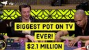 €1 000 000 Buy In Triton Cash Game Highlights Tom Dwan Phil Ivey Patrick Antonius and Jungleman