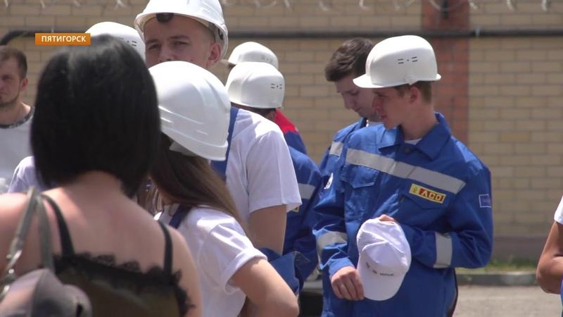 В Пятигорске заступил на рабочую смену студенческий строительный отряд
