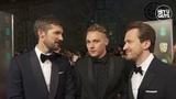 Ben Hardy, Gwilym Lee & Joseph Mazzello on Rami Malek & Bohemian Rhapsody at the BAFTAs