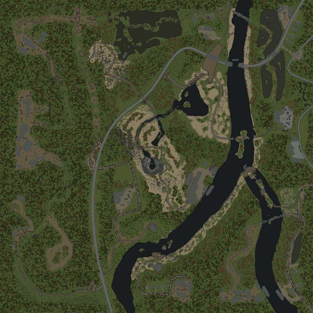 Карта «Чужая колея»