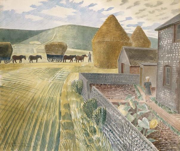 Эрик Равилиоус (Eric Ravilious,1903 – 1942) — английский художник, гравер и дизайнер. Он получил образование в Истборне школе искусств, а затем в Королевском колледже искусств.