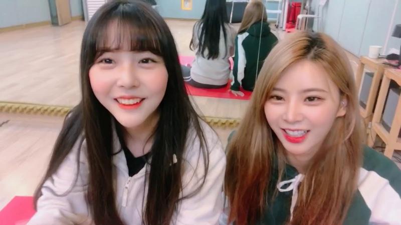 핑크판타지 Pinkfantasy 데일리셀카29 하린과 시아의 투머치토크☆