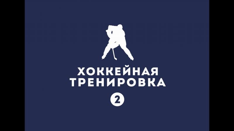 Хоккейная тренировка - 2 часть