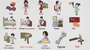 Household Chores Vocabulary | Housework and Repair Verbs in English