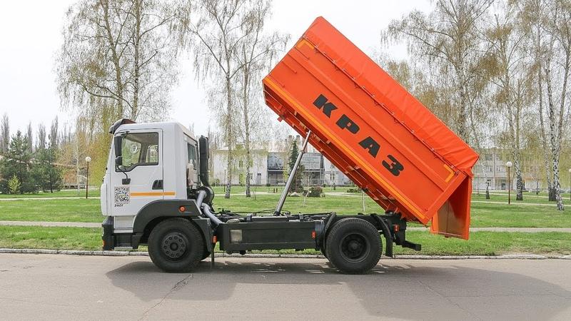 Зерновоз на базі самоскиду КрАЗ-5401С2