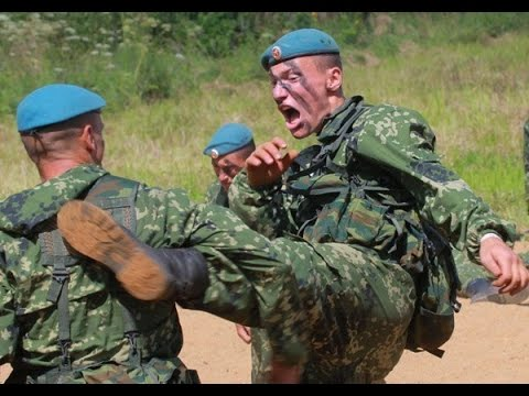 Russian Airborne Troops Hand To Hand Combat
