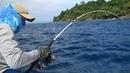 РЫБАЛКА В РАЮ Что ловится на спиннинг в Тихом океане! Первая серия.