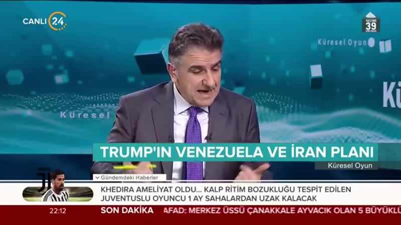 Selim Atalay ile Küresel Oyun (20.02.2019)