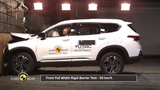 2019 Hyundai Santa Fe  Crash Test Euro NCAP