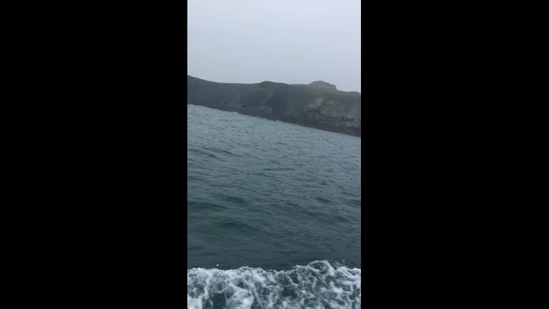 Хоут, Ирландия, на рыбацкой лодке